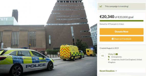 Family of boy thrown from Tate Modern say his injuries are 'still unknown'