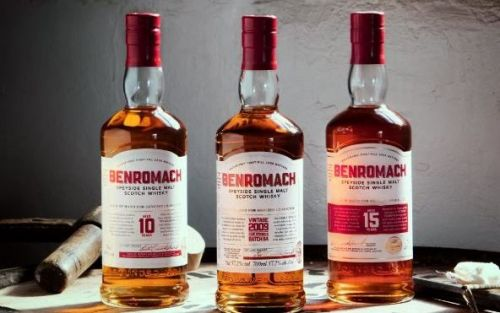 Benromach reveals new look inspired by the distillery history