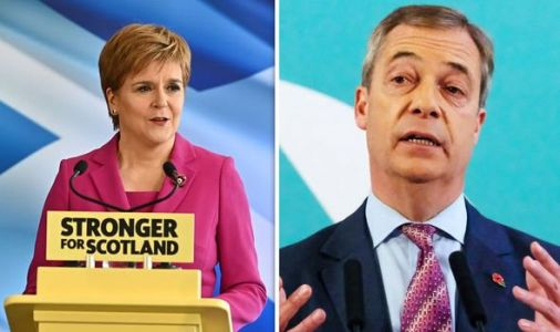 Sturgeon sparks fury for 'handing power to EU' after attacking Farage's election strategy