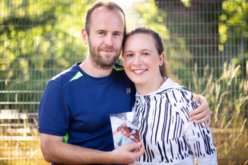 Couple whose baby died at 10 days running the London marathon to raise money for NHS staff