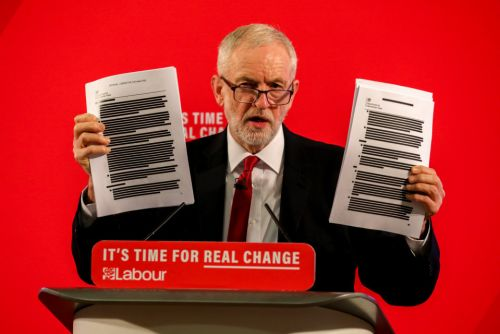 Jeremy Corbyn's leaked NHS documents DID come from Russia, Reddit reveals