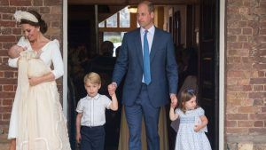 William and Kate may break this royal tradition with George, Charlotte and Louis