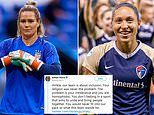 U.S. Women's soccer star Ashlyn Harris fights Jaelene Hinkle's comments and calls her 'homophobic'