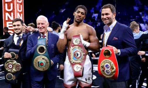 Eddie Hearn reacts to Anthony Joshua vs Andy Ruiz and talks next fight - 'f*****g relax'