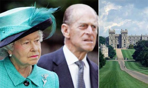 Ghostly story behind the Queen and Prince Philip's home revealed
