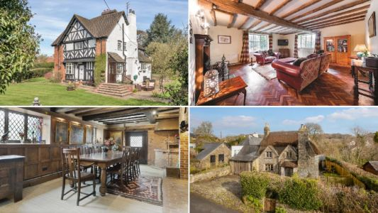 House Hunter: The prettiest Tudor homes up for sale around the UK