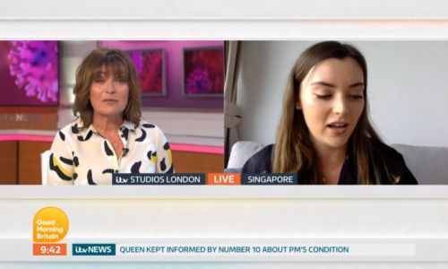 Lorraine Kelly breaks down in tears while talking to daughter Rosie on Good Morning Britain - watch