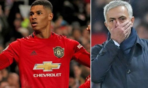 Man Utd star Marcus Rashford was fired up for Tottenham win by Jose Mourinho