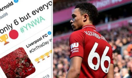 Liverpool star Trent Alexander-Arnold sends 2005 message to fans ahead of Champions League