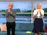 Holly Willoughby is left in tears on This Morning as she watches viral video of family singing