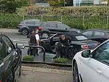 Two boys, 15, and two 14-year-old girls were in black Audi stopped by armed police