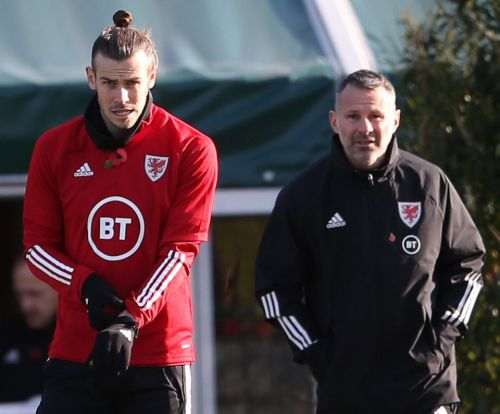 Bale and Ramsey can't both start for Wales because they are not fit, Giggs reveals ahead of Azerbaijan clash