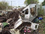 Grim pictures show decaying remains of infamous traveller camp Dale Farm