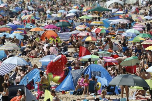 Airlines reports a surge in foreign bookings as Brits avoid crowded UK beaches