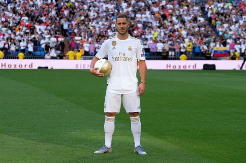 Eden Hazard reveals he put on five kilos before joining Real Madrid