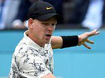 Edmund beaten 6-3 7-5 by Tsitsipas in first round at Queen's
