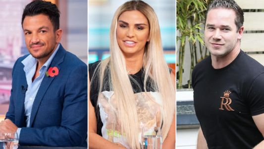 Katie Price 'supported by ex-husbands Kieran Hayler and Peter Andre' after Harvey's health scare