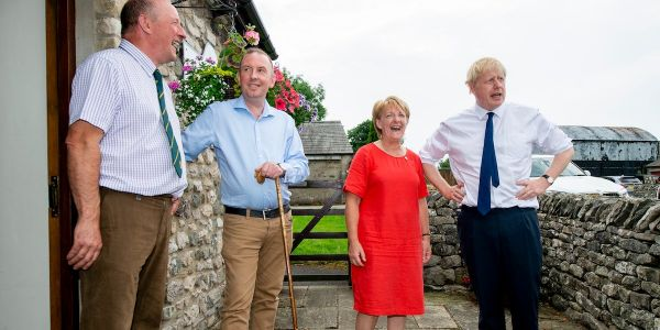 Boris Johnson's Conservatives believe Labour's 'red wall' is crumbling in the key North West battlegrounds he needs for victory
