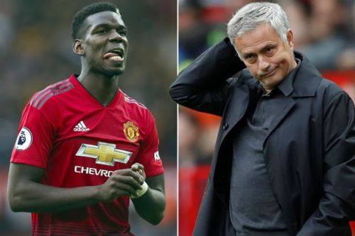 Jose Mourinho tells Paul Pogba he'll never captain Manchester United again in front of team-mates