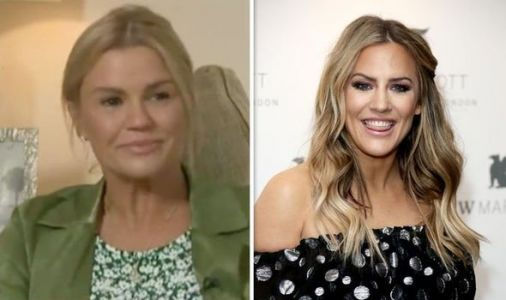Caroline Flack: Heartbreaking moment Kerry Katona breaks down in tears over star's death