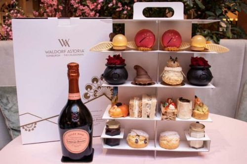 Edinburgh Hotel launches new Harry Potter themed afternoon tea delivery service