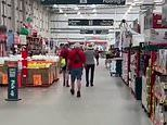 Bunnings store in Sydney is stormed by anti-vaxxer over Covid rules, TikTok video shows