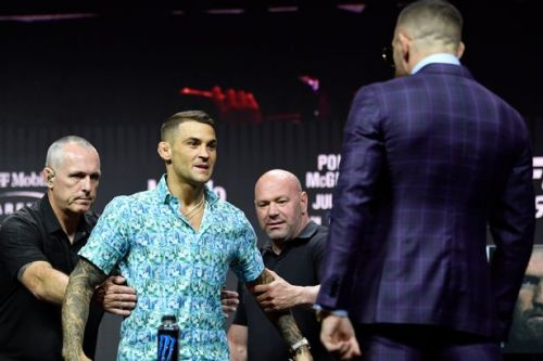 Dustin Poirier trolls Conor McGregor by reviving insult from rivals' first fight