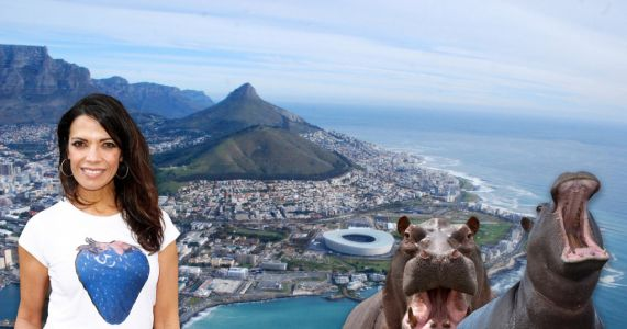 On the road with: Presenter Jenny Powell reveals her fave travel spots from Cape Town to Hippo Corner