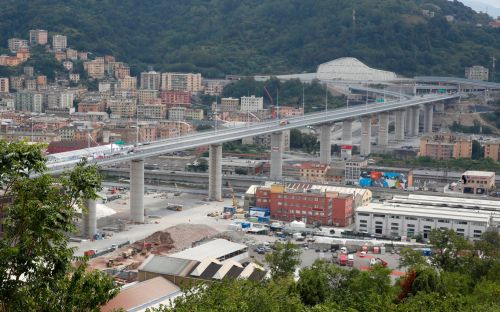 Inauguration of new Genoa bridge a symbol of hope for virus-battered Italy