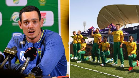 South Africa's Quinton de Kock apologises and explains why he refused to take the knee at T20 Cricket World Cup