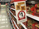 Coles slashes the prices of popular grocery items - including pasta, cheese, and snacks