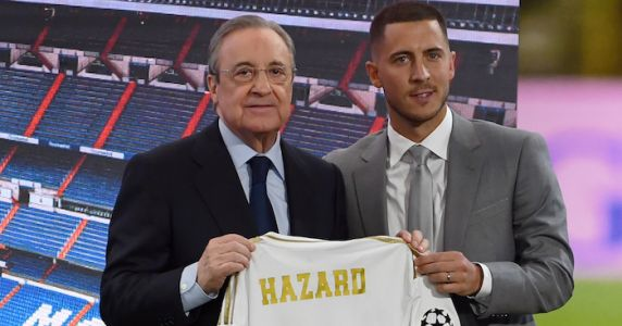 Hazard can become best in the world at Real, claims former team-mate