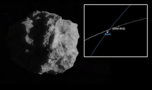 NASA asteroid: Radars track a 200M rock rapidly approaching Earth at 40,130MPH