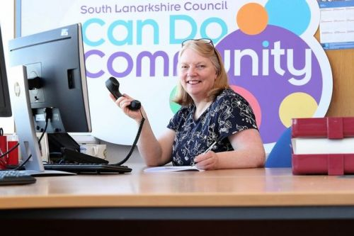 Volunteers throughout South Lanarkshire are being assured of continued support