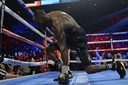 Deontay Wilder taken to hospital after brutal Tyson Fury defeat