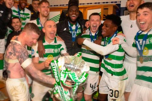 Neil Lennon sparks wild Celtic celebrations as manager offers big reward after Betfred Cup glory