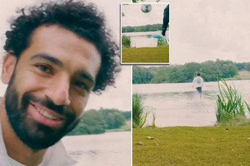 Liverpool's Mo Salah appears to run on water in new Adidas Football advert