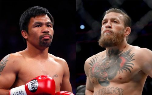 Conor McGregor vs Manny Pacquiao confirmed by Filipino's team