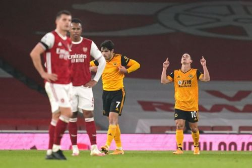 Arsenal player ratings vs Wolves as Daniel Podence downs Gunners