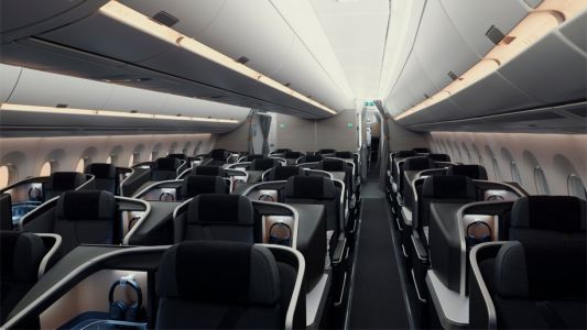 The big picture: SAS unveils A350 cabins