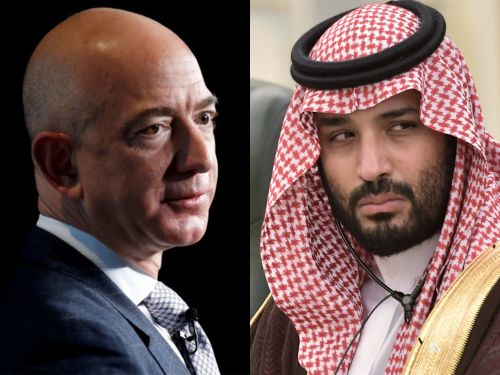 Jeff Bezos breaks silence on reports that Crown Prince Mohammed bin Salman hacked his phone by commemorating the journalist whose murder was linked to the Saudi government