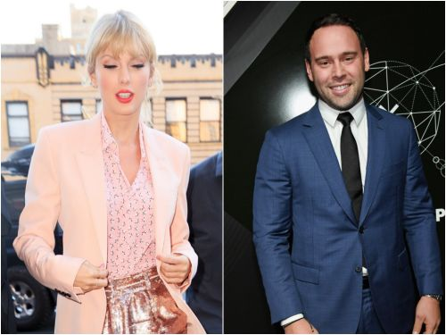 Scooter Braun says his wife and children have received death threats since Taylor Swift publicly accused him of blocking her from performing old songs