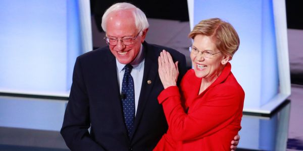 Bernie Sanders and Elizabeth Warren are calling for massive wealth taxes on the super-rich. Voters like it so much that moderate 2020 Democrats are coming around
