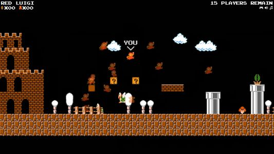 Of course someone made a Super Mario battle royale