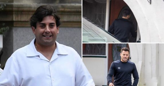 Mark Wright supports BFF James Argent after he was 'rushed to hospital following overdose fears'