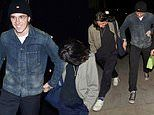 Brooklyn Beckham holds hands with pal after awkwardly attending SAME bash as ex Hana Cross
