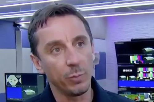 Gary Neville explains why his preference is for Liverpool to win title on March 14