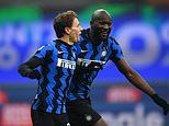 Inter Milan 2-0 Juventus: Young starlet Nicolo Barella fires home the bianconeri's second