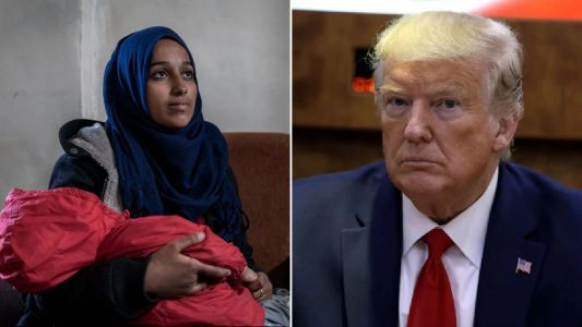 Judge rules Isis bride condemned by Donald Trump should be barred from US forever