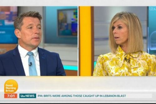 Ben Shephard leaving Good Morning Britain as Kate Garraway confirms departure